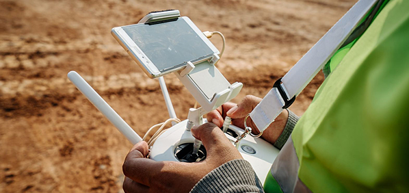Flying drones in Australian mine sites, collecting data of many types